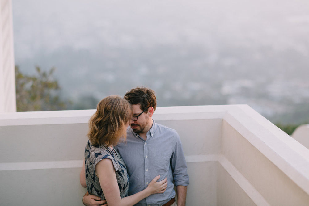 Griffith Park Observatory and Trails Cafe Los Angeles Engagement Session - Alison and Andrew-015.jpg