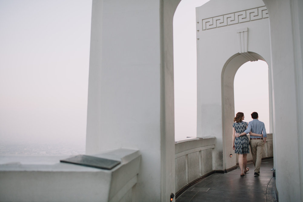 Griffith Park Observatory and Trails Cafe Los Angeles Engagement Session - Alison and Andrew-019.jpg