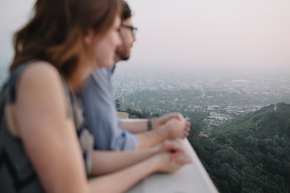 Griffith Park Observatory and Trails Cafe Los Angeles Engagement Session - Alison and Andrew-020.jpg