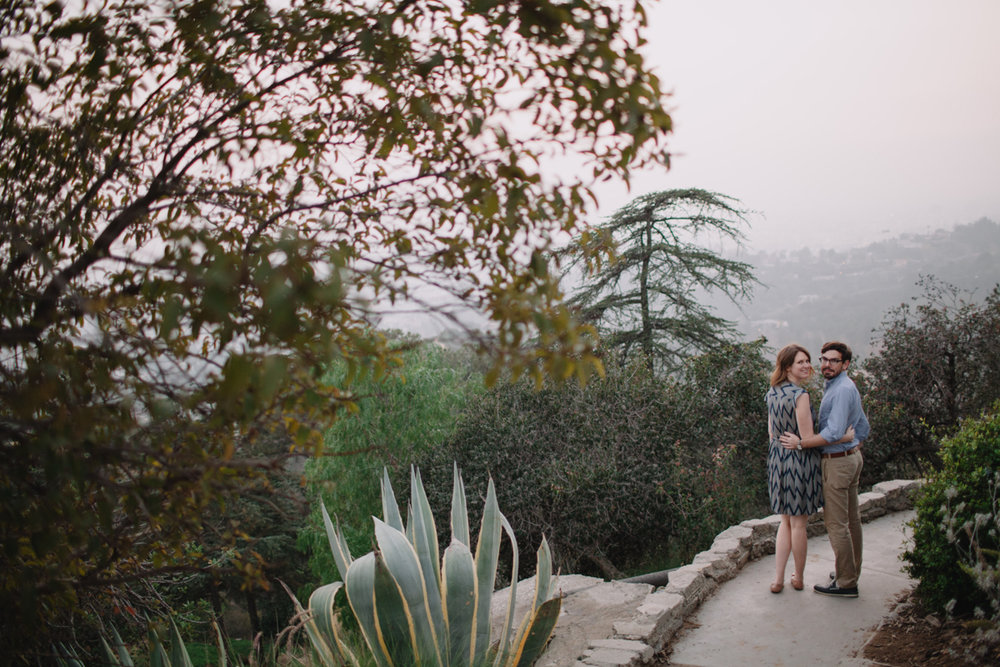 Griffith Park Observatory and Trails Cafe Los Angeles Engagement Session - Alison and Andrew-025.jpg