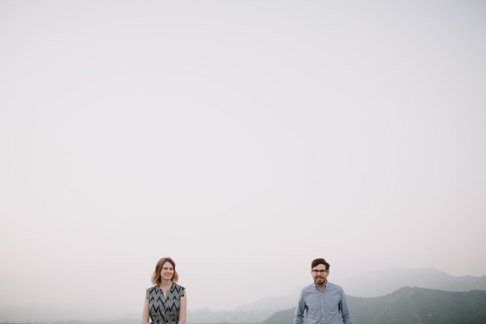 Griffith Park Observatory and Trails Cafe Los Angeles Engagement Session - Alison and Andrew-028.jpg
