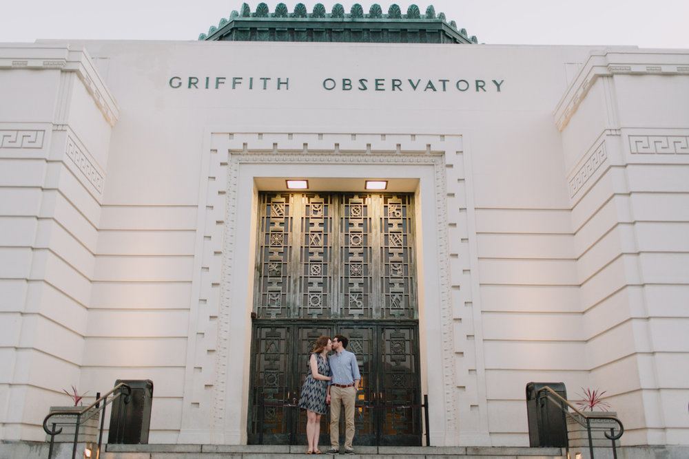 Griffith Park Observatory and Trails Cafe Los Angeles Engagement Session - Alison and Andrew-030.jpg