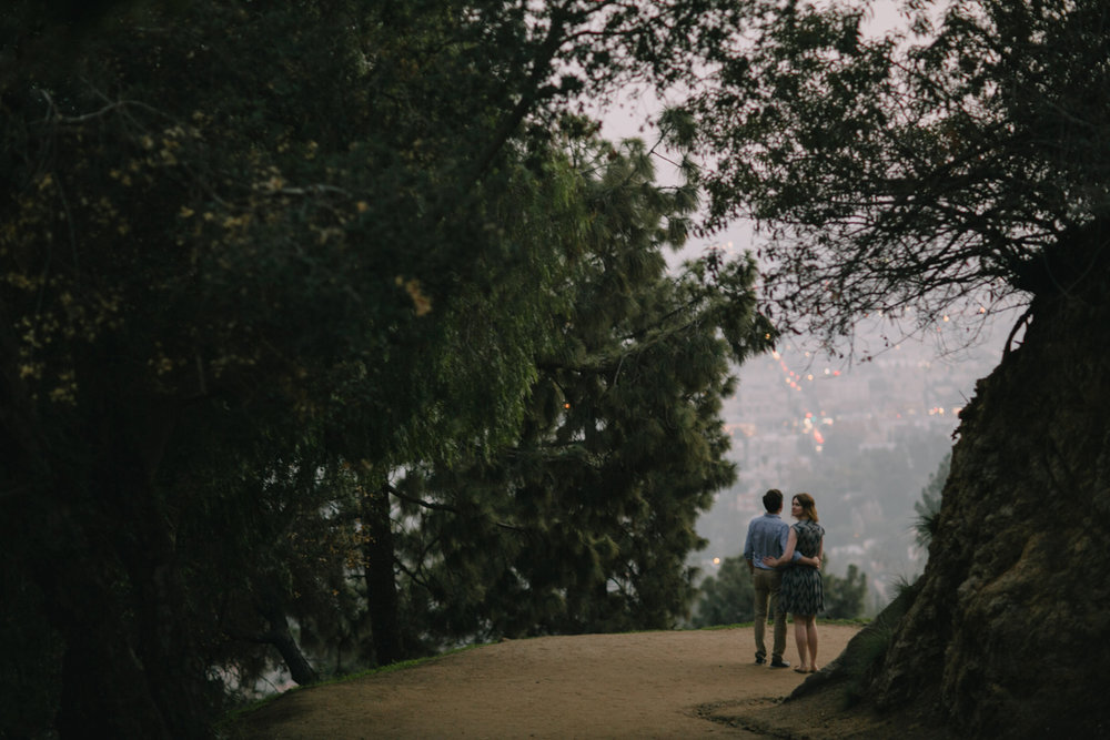 Griffith Park Observatory and Trails Cafe Los Angeles Engagement Session - Alison and Andrew-031.jpg