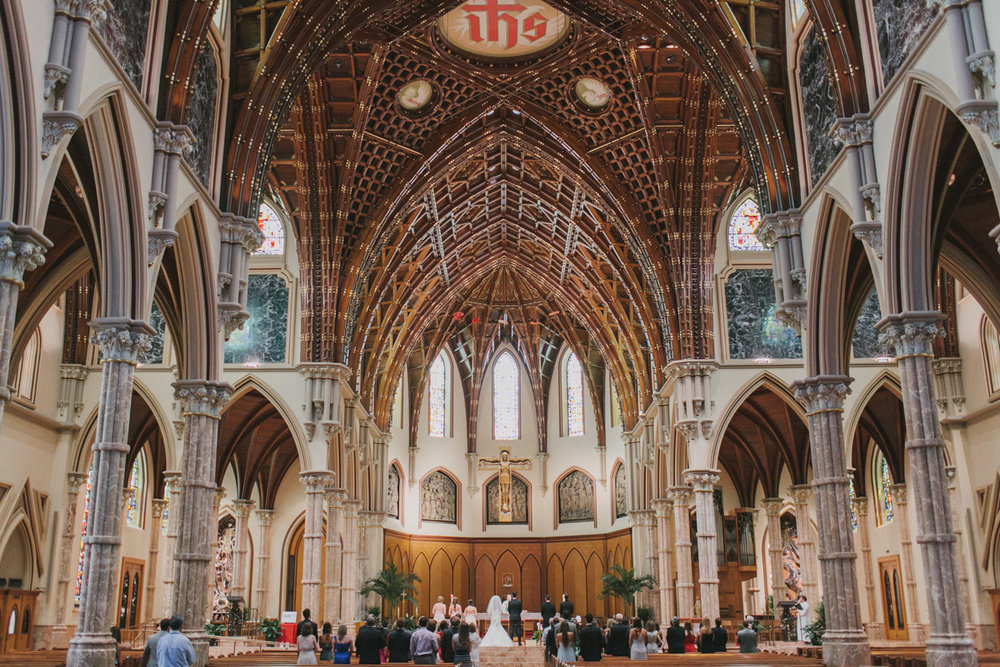 Holy Name Cathedral and Public Hotel Wedding Chicago Illinois - Kelly and Brian-009.jpg