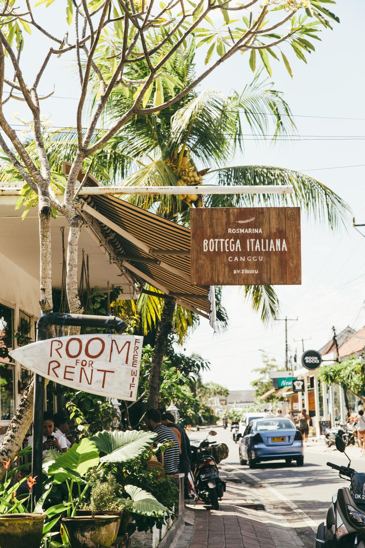 Jl. Pantai Batu Bolong in Canggu