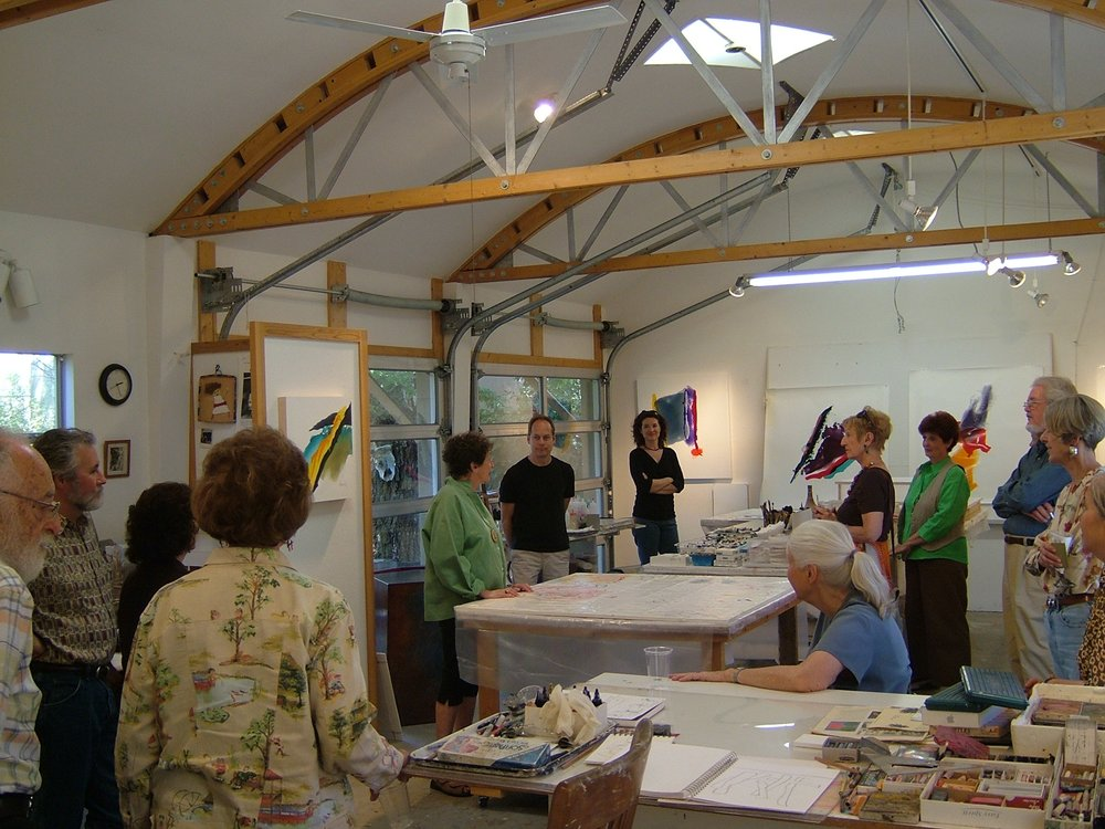 Lilly Fenichel's Studio