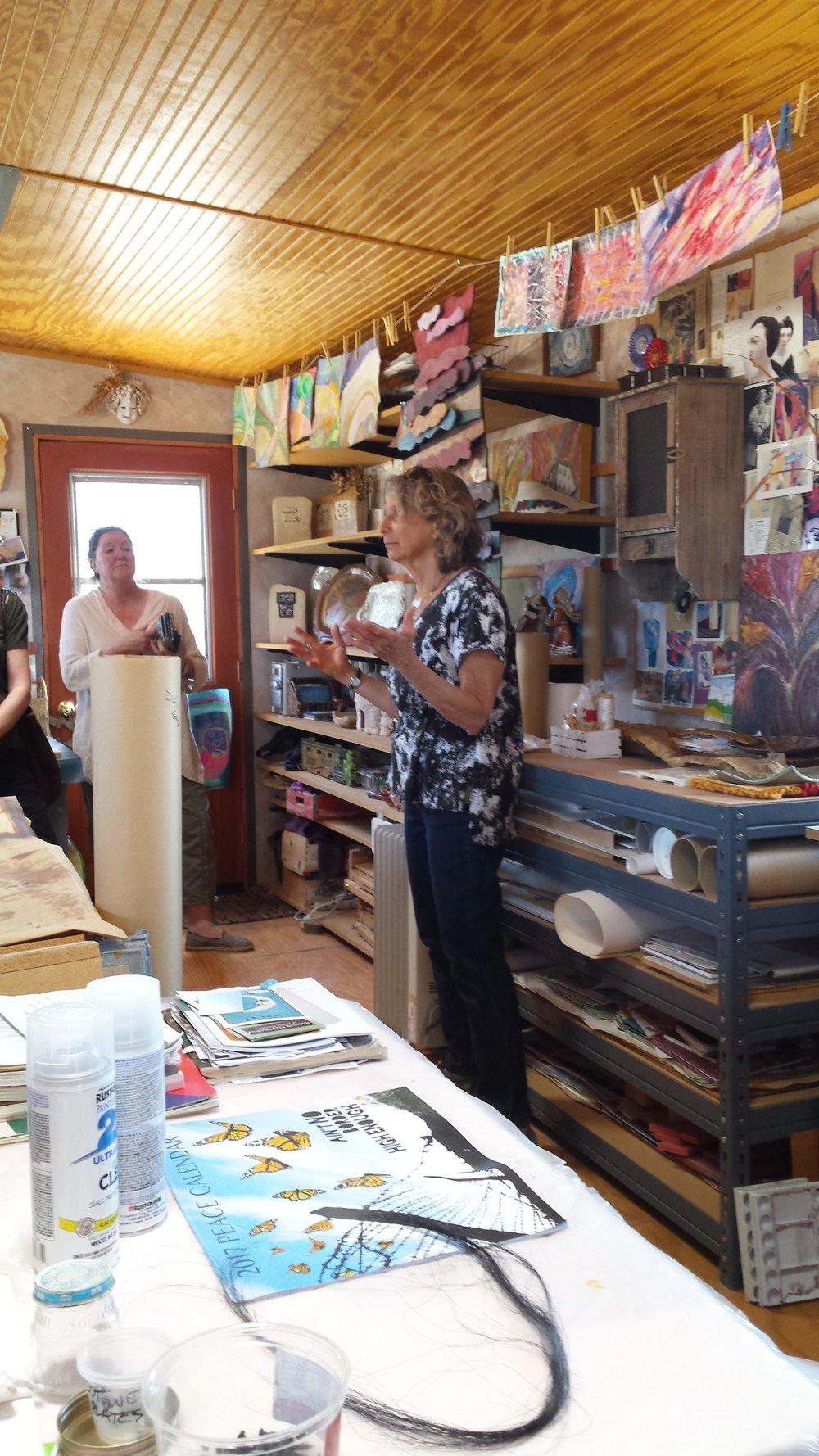 Daisy Kates' Studio