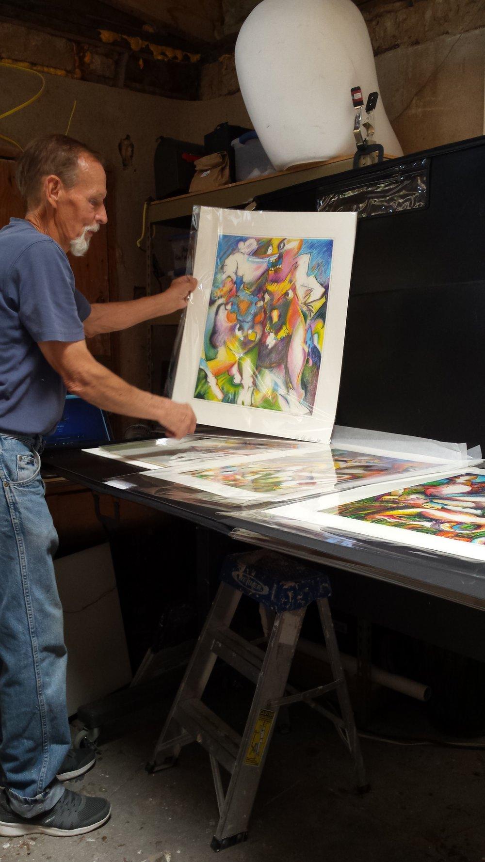 Phil Putnam's Studio