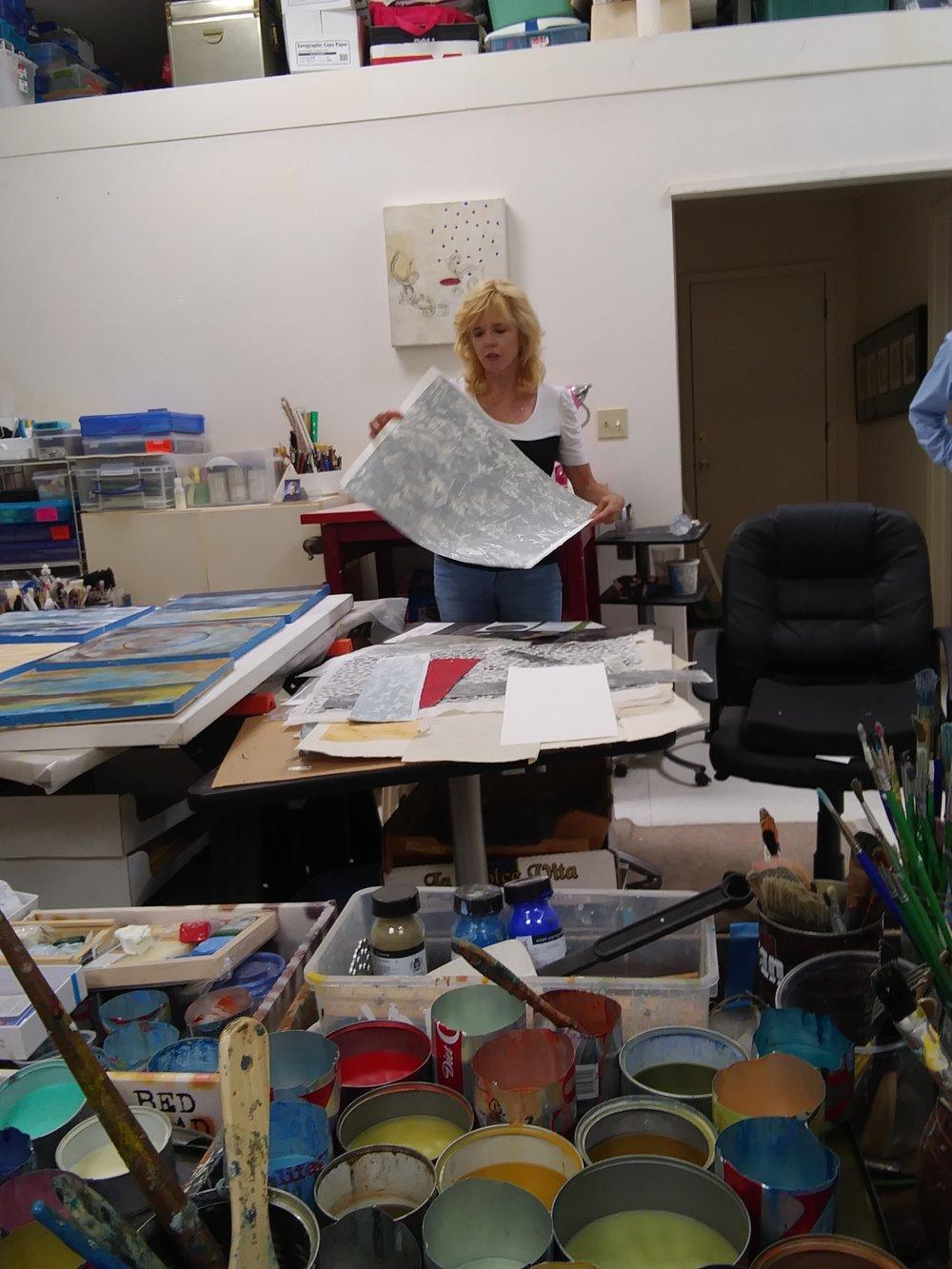 Virginia Baich's Studio