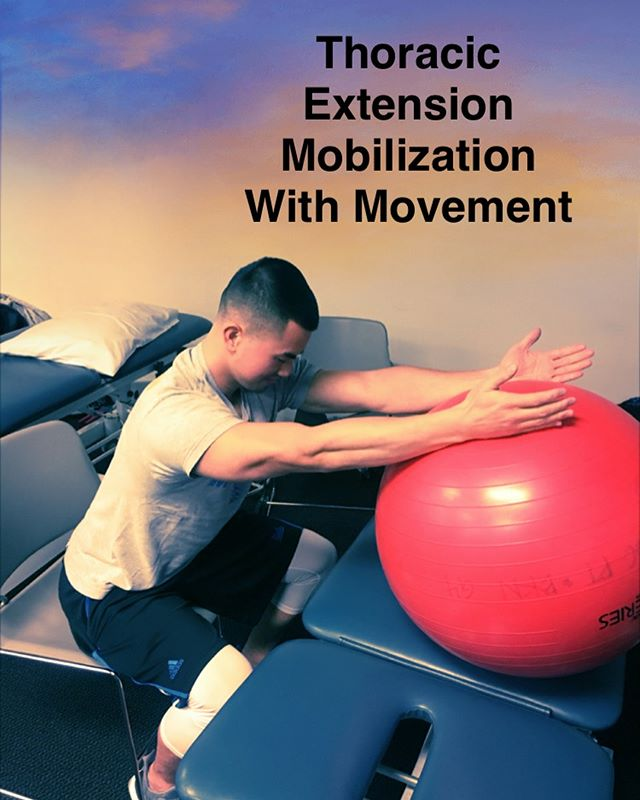 ~ to improve Thoracic Extension ~