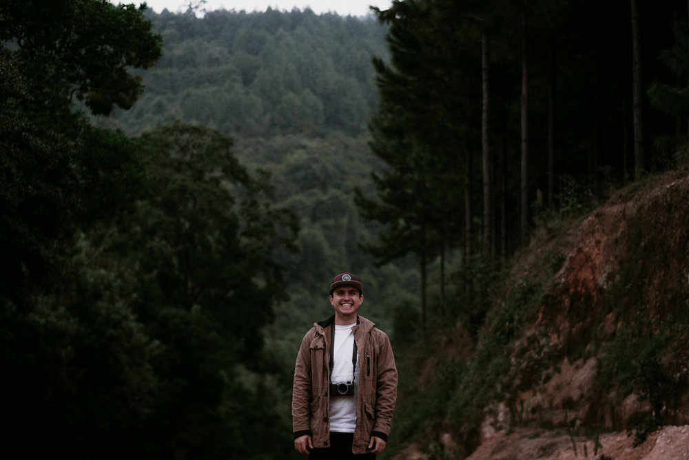 This is what I look like in nature, happy.  Photo taken by my brother while we were shooting in Magoebaskloof.