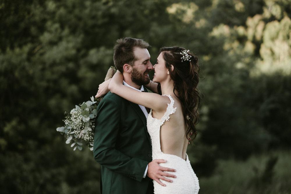 France & Wouter - Verkykerskop, Free State Wedding