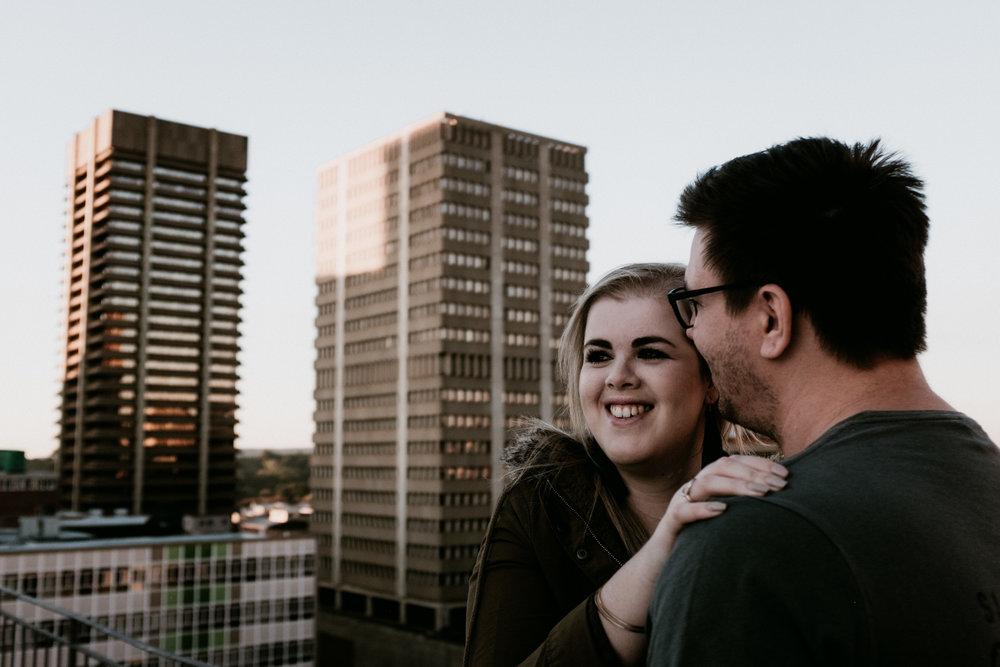 Danielle & Bryce - Urban Engagement Shoot
