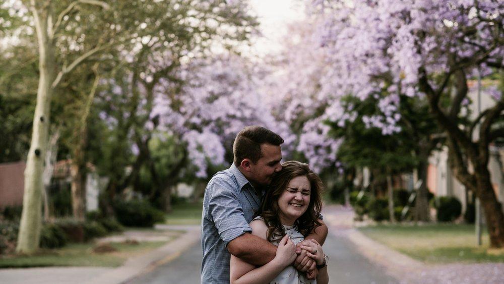 Enwee & Sarah - Waterkloof Engagement