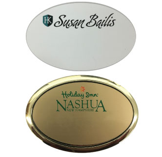 Oval Badges, Lower Badge with Frame