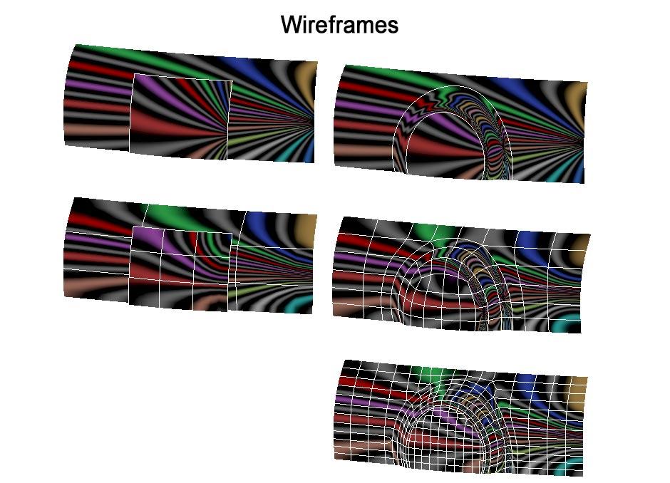 Replicas Wireframes
