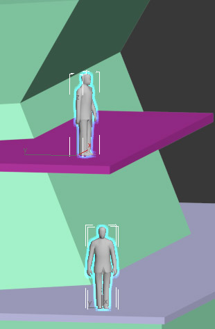 You can use any thing you know the actual size of, such as a human figure, a coin or a building floor height, place them in the scene and compare how you model looks in relation.