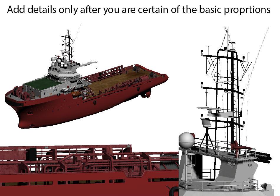 Vessels Details