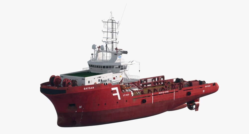 AHTS Anchor Handling Tug Supply Vessel