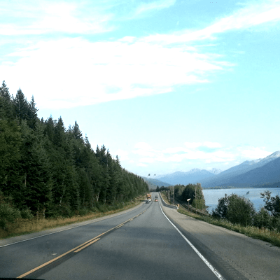 I enjoy going on road trips. In 2015, I drove from Vancouver to the Rockies then took another trip from Vancouver to California. That's over 5,200 KMs!