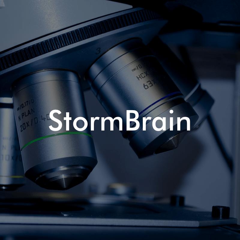 StormBrain UX | Web App