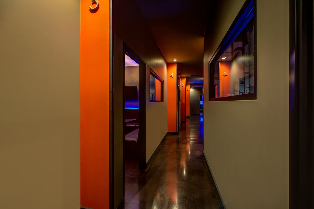 Private karaoke rooms