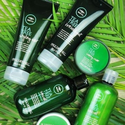 Tea Tree   Ideal for ingredient enthusiasts and eco-conscious consumers who seek a sensory experience, Tea Tree indulges guests from head to toe and transforms an ordinary salon service into a feast for the senses. Known for its signature tingle, Tea Tree Special Shampoo® is the #1 specialty shampoo in the professional beauty industry. With three distinct categories based on aromatherapeutic ingredients and the needs of varying hair types, Tea Tree elevates the salon experience.