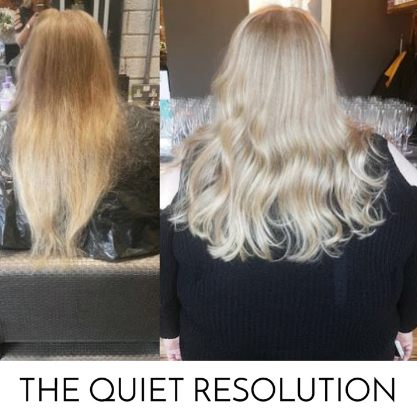 Discover why the girls from Edinburgh based The Quiet Resolution have called us 'The Only Hairdresser You Need In Edinburgh'  here