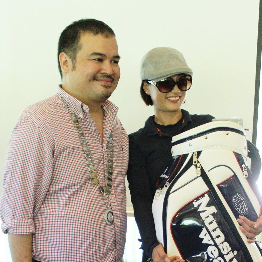 5th Prize: Munsingwear Golf Bag