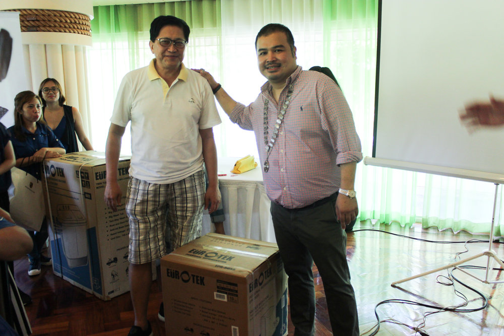 4th Prize: Eurotek Home Appliances