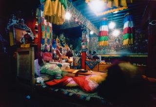 Puja - Jumbesi Monastery. Jumbesi, Nepal, 2012