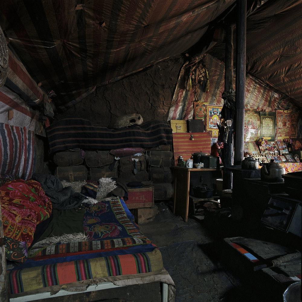 Sichuan, Maniganggo - summerhouse