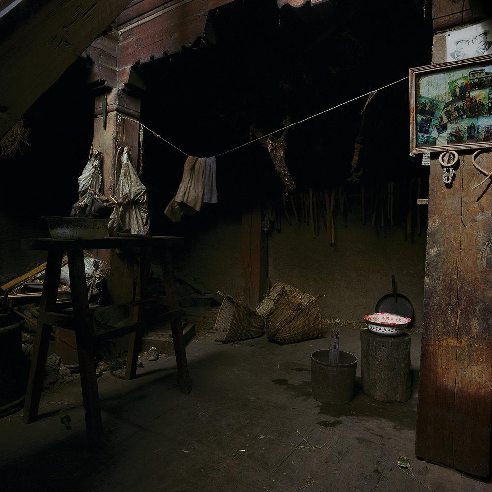 Sichuan, Gongalin - carcasses