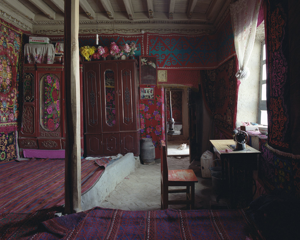 Xinjiang, Karaköl - sewing machine