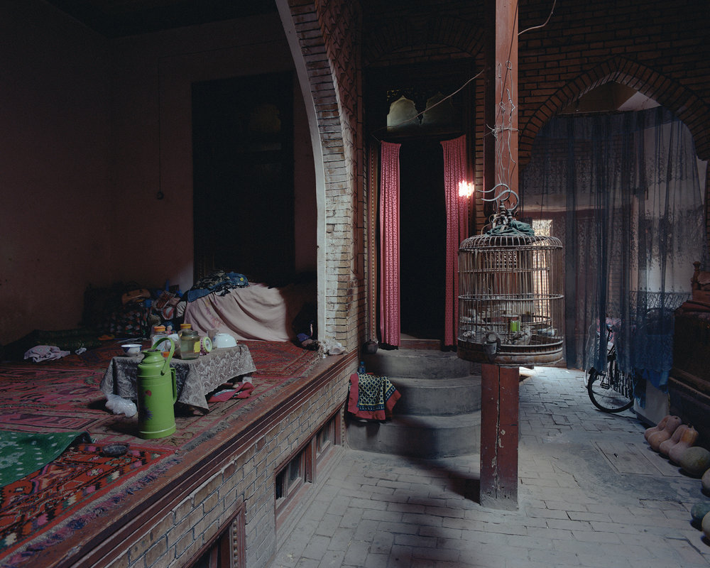 Xinjiang, Kashgar - bird cage