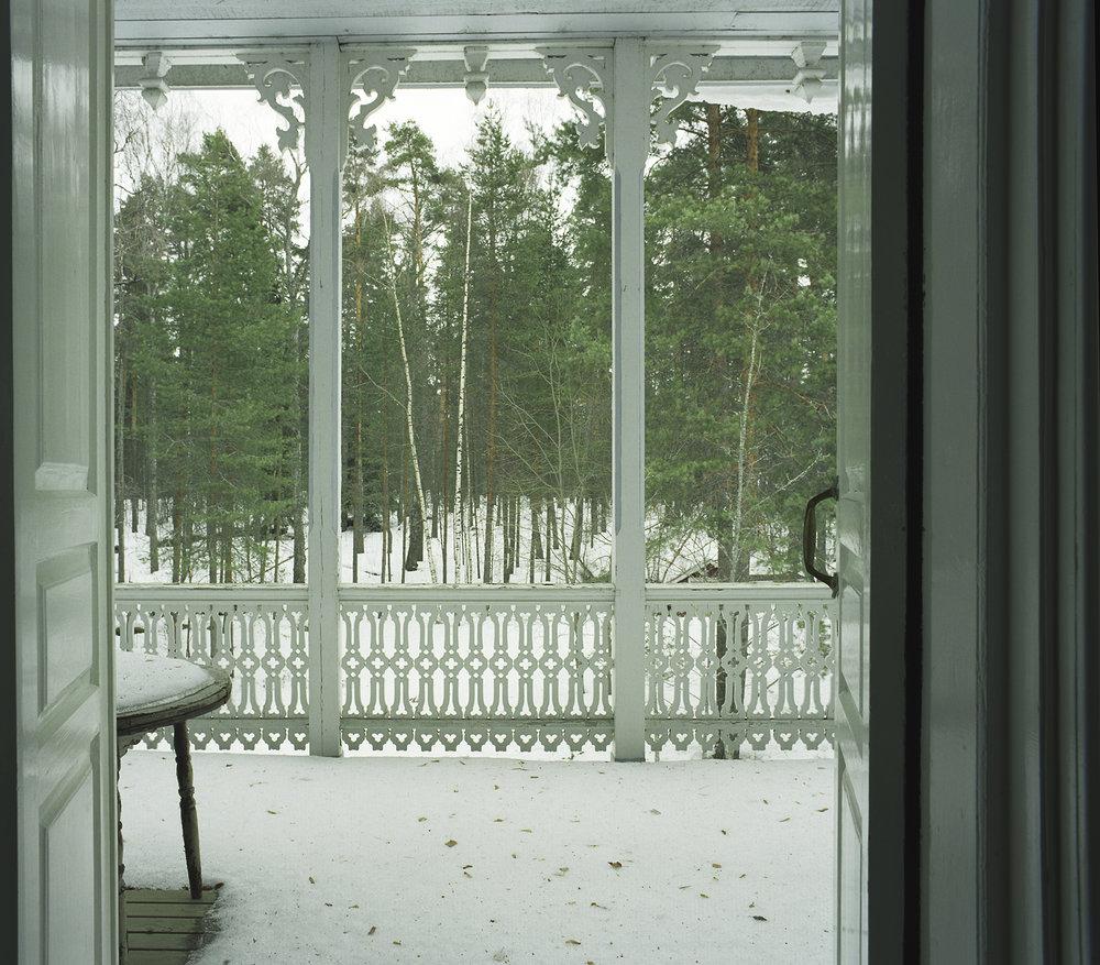 Joensuu, veranda.