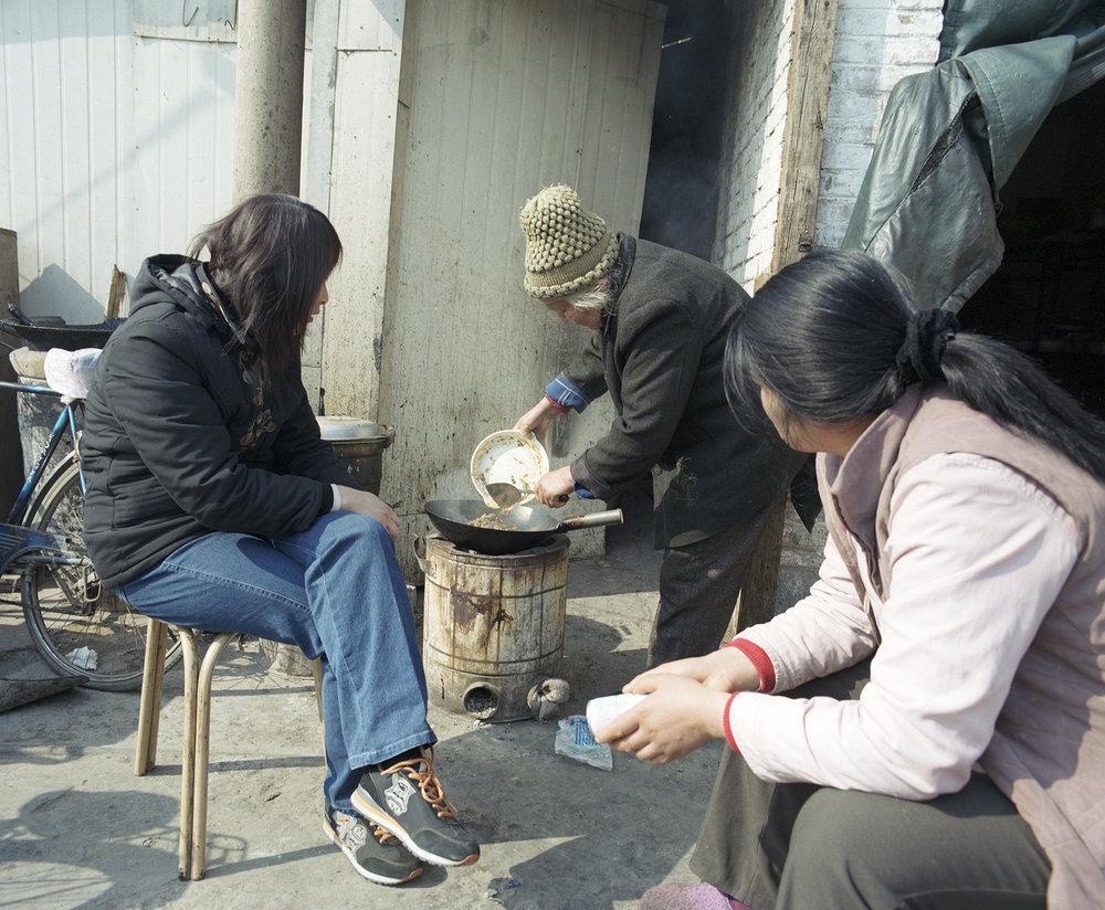 Street restaurant.