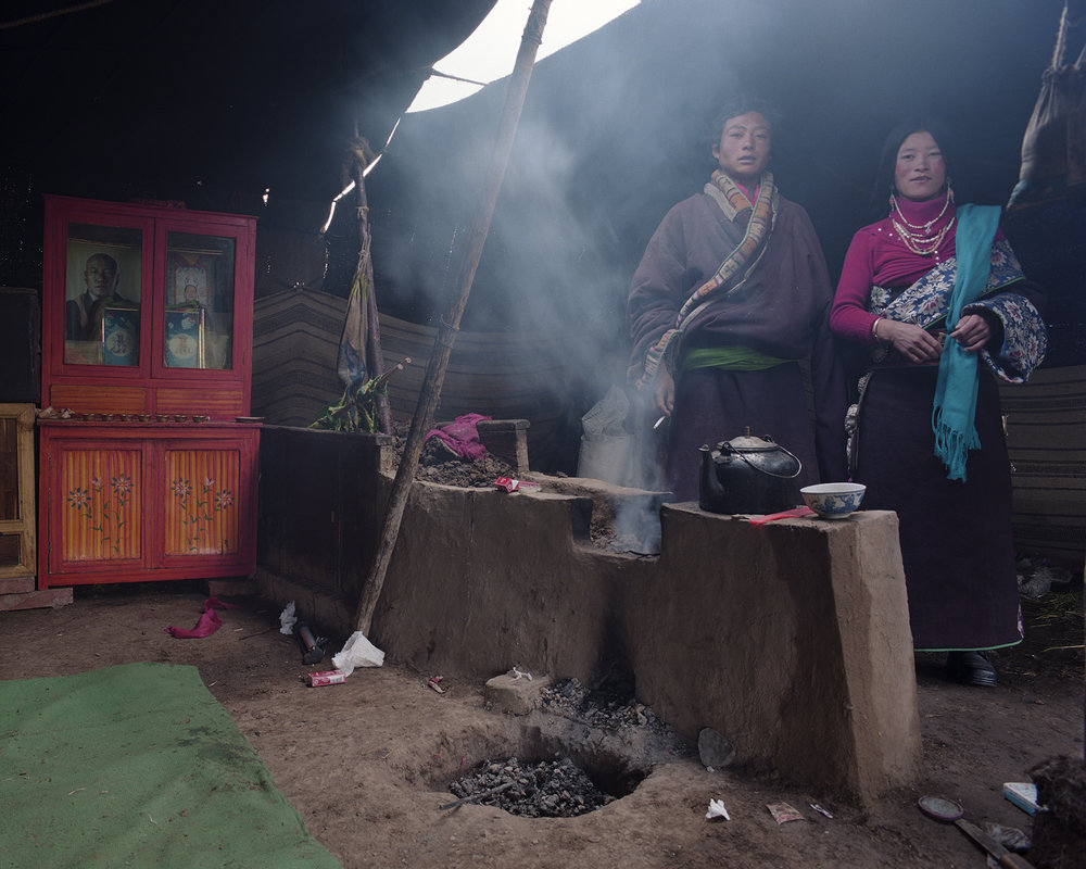 2007 Qinhai - daily life on the grass lands.