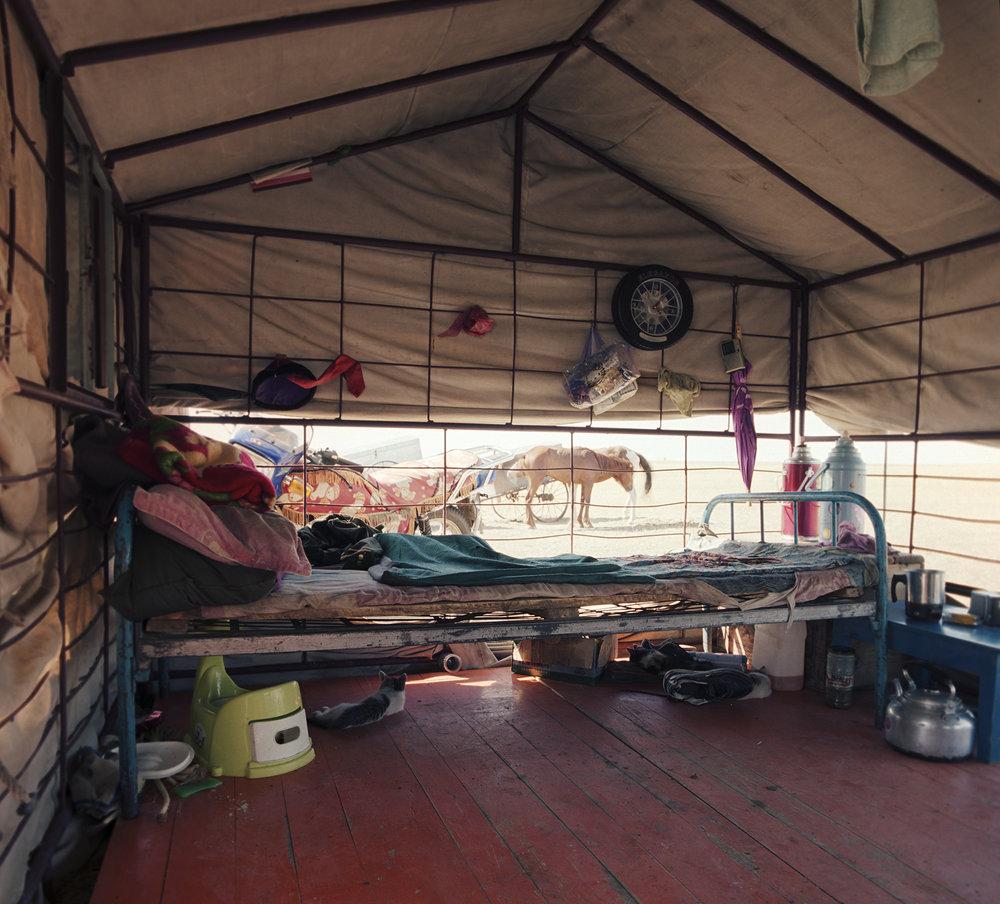 2008 Inner Mongolia - summer tent.