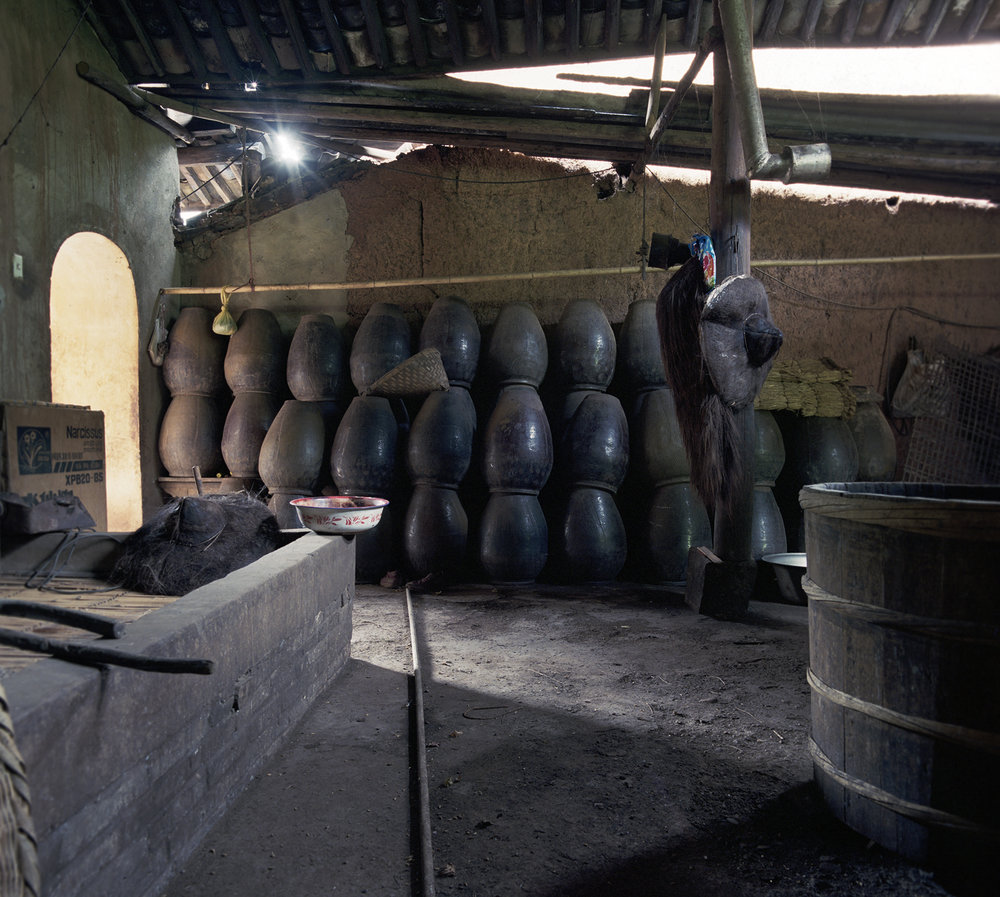 2008 Yunnan - a rice wine factory.