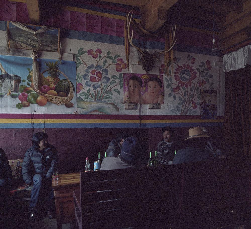 2010, Kandze - local diner.