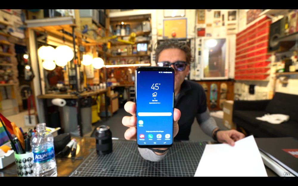 "Casey Neistat: ""Samsung Galaxy S8 Review"""