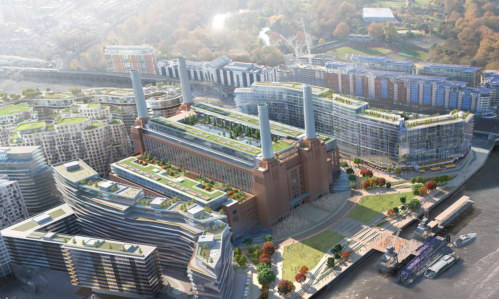 MIXED USE COMMERCIAL // BATTERSEA POWER STATION