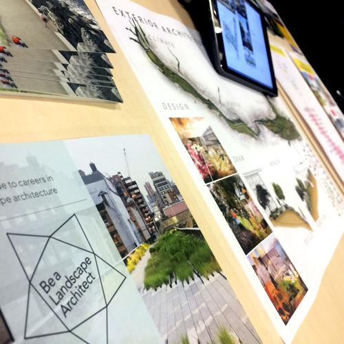 Please visit the Landscape Institute's website for budding landscape architects  HERE
