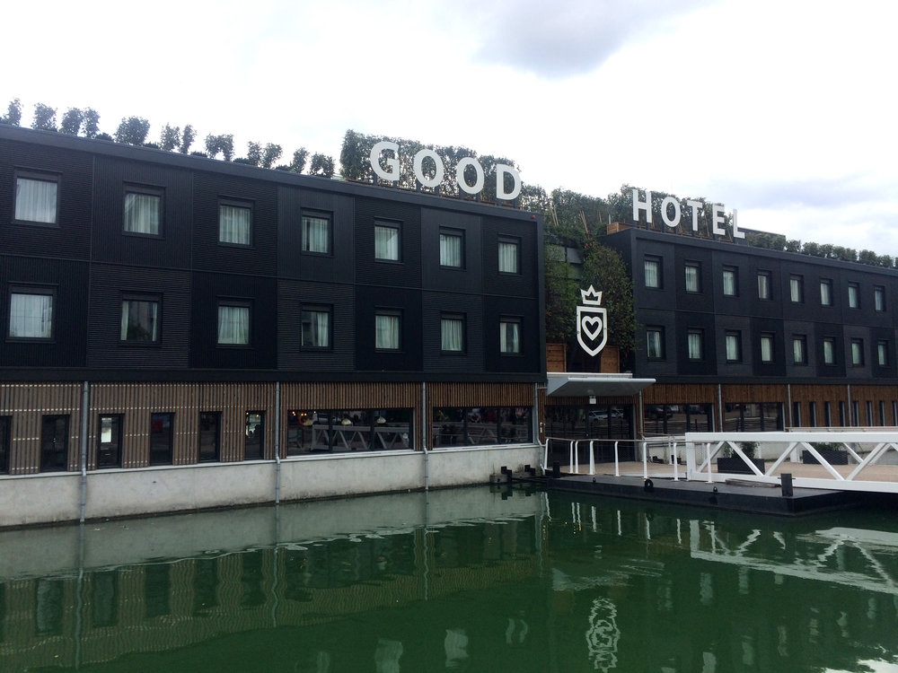 The Good Hotel 'floated' into Greenwich in 2016