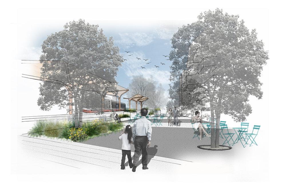 Sketch View to Bridge Streetscape Revised.jpg