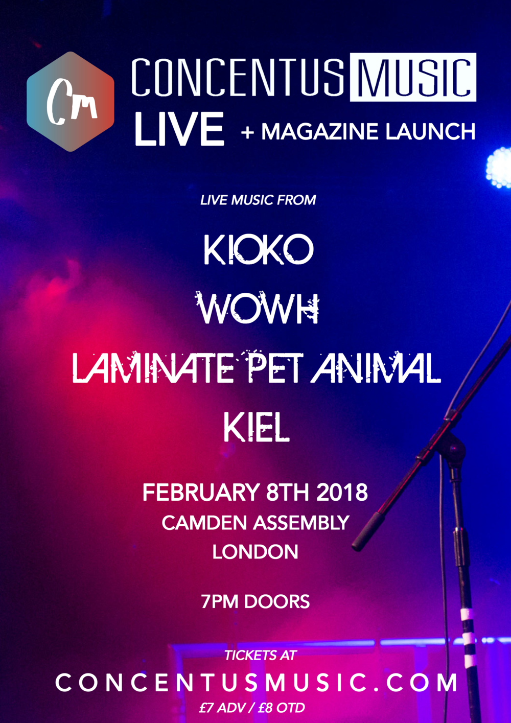LIVE + MAGAZINE LAUNCH