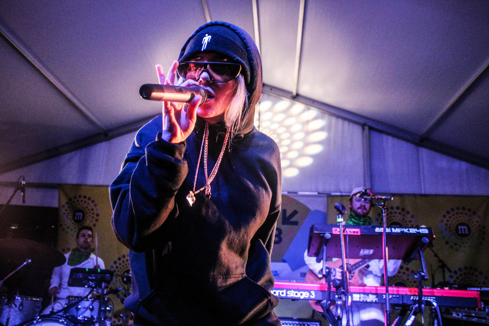 Billie Eilish at SXSW - Photo © Concentus Music - Reproduction without permission not permitted