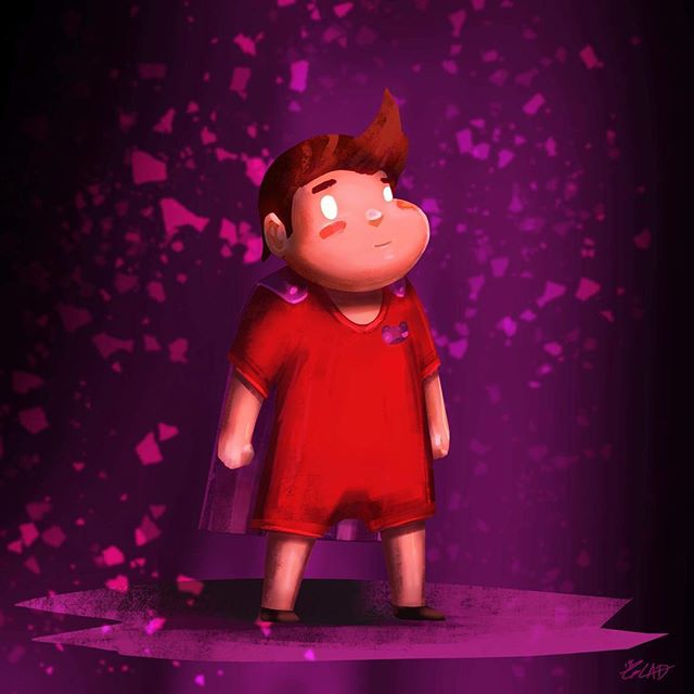 World, this is Kid Forest. He's been waiting to meet you ... @teddyandthelovegang #new #music #adventure illustration @haavard_glad