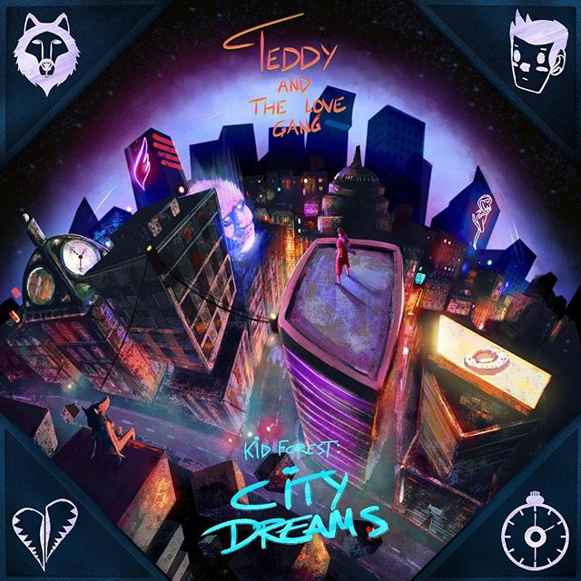 The second installation of @teddyandthelovegang 's EP trilogy, aptly named City Dreams, is upon us.